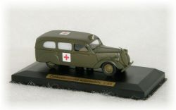 "ŠKODA POPULAR OHV - ambulance army ""1937"" CVKP"