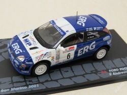 "Ford Focus RS WRC Rally  No.6  ""2001"""