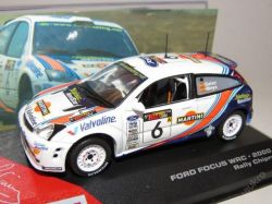 "Ford Focus WRC Rally  No.6  ""2000"""