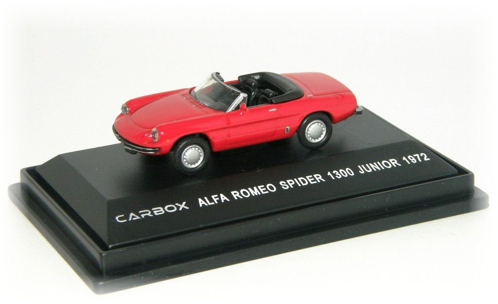 "ALFA ROMEO SPIDER 1300 JUNIOR ""1972"" Carbox"