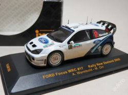 "Ford Focus WRC Rally New Zealand No.17 ""2005"" IXO"