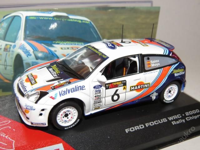 "Ford Focus WRC Rally No.6 ""2000"" IXO"