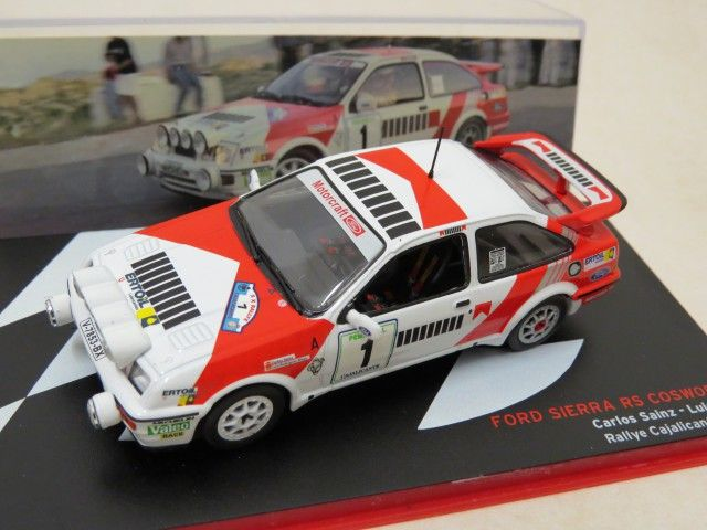 """Ford Sierra RS Cosworth Rally No.1 """"1988"""" IXO"""