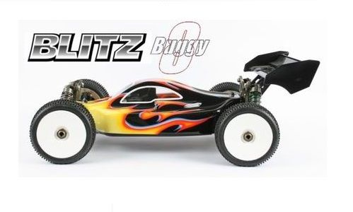 Karoserie BLITZ Buggy8 Fits Losi 1/8th 8ight (1.5mm)