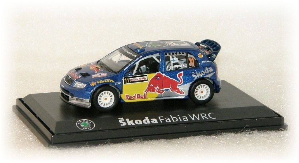 "Škoda Fabia WRC - Rallye of Turkey No.11 ""2006"" Abrex"